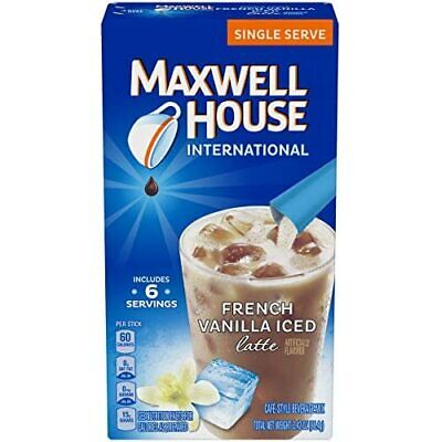 Maxwell House International Cafe French Vanilla Instant Iced Coffee (48 Count, -