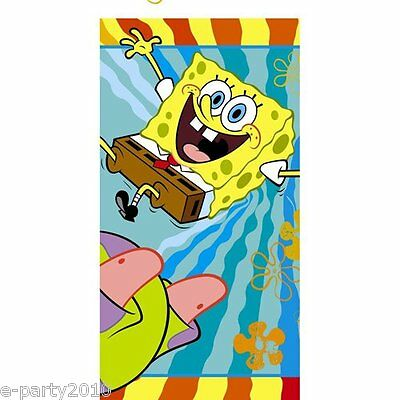 SPONGEBOB SQUAREPANTS Buddies PLASTIC TABLE COVER ~ Birthday Party Supplies Nick](Birthday Party Supply)