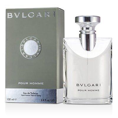Bvlgari Pour Homme By Bvlgari 3.3 / 3.4 Oz EDT Spray NIB Sealed Cologne For Men