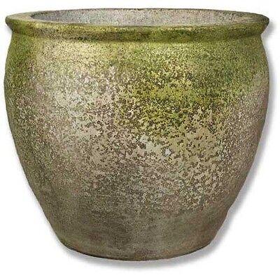 Egg Jar  Planter Urn - Folk Art Statuary - Durable Fiberstone Yard Art