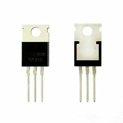 Todiys New 30pcs For Tip31 Tip31c Tip31cg 100v 3a To-220 Silicon Npn Power Tr...