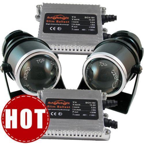 Turbo Universal Headlight Led String: Universal HID Fog Light Kit