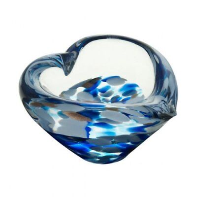Caithness Crystal Mini Heart Bowl (Sapphire) NEW in Gift Box  Crystal Heart Bowl