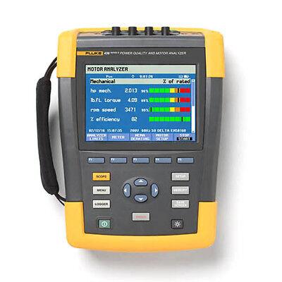 Fluke 438-ii 3-phase Power Quality And Motor Analyzer Iflex Probes