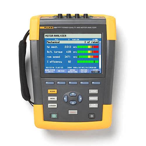 Fluke 438-II 3-Phase Power Quality and Motor Analyzer, iFlex Probes