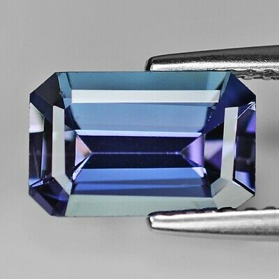 2.45 Cts NATURAL VIOLET BLUE COLOR TANZANITE EARTH MINED LOOSE GEMSTONE
