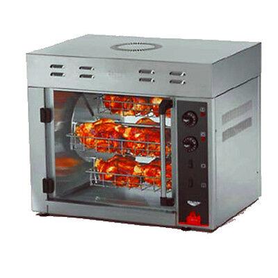Vollrath 40841 Countertop Electric 15 Bird Rotisserie Oven