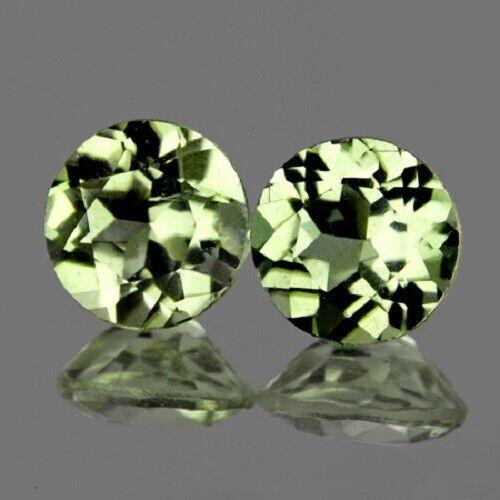 Color Change Diaspore Round 5.00 mm 2 pcs,Flawless-VVS,Natural Loose Gemstone