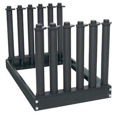 5 LITE SLOT NEW TECH WINDSHIELD AUTOMOBILE GLASS RACK HEAVY DUTY W/ EPDM RUBBER