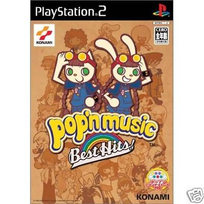 POP'N MUSIC BEST HITS KONAMI PS2 Import Japan  pop'n