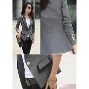 Womens Gray Blazer