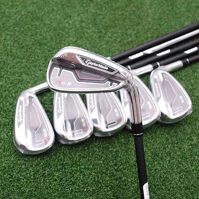 TaylorMade Golf RSi-1 Iron Set - 4-PW REAX GRAPHITE RSi1 Regular Flex Irons- NEW