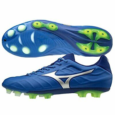 a0681c4a9 MIZUNO Soccer Football Spike Shoes REBULA V1 P1GA1881 Blue Silver US7(25cm)