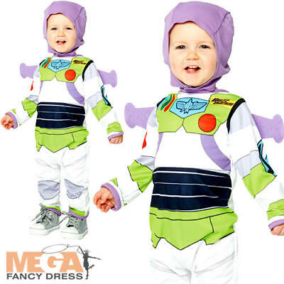 Buzz Lightyear Infants Fancy Dress Disney Toy Story Baby Boys Toddlers Costume](Toddler Buzz Lightyear Costume)
