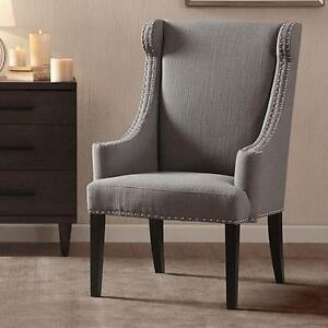 NEW MADISON PARK ACCENT CHAIR - 118431255 - BARTON CHAIR GRAY