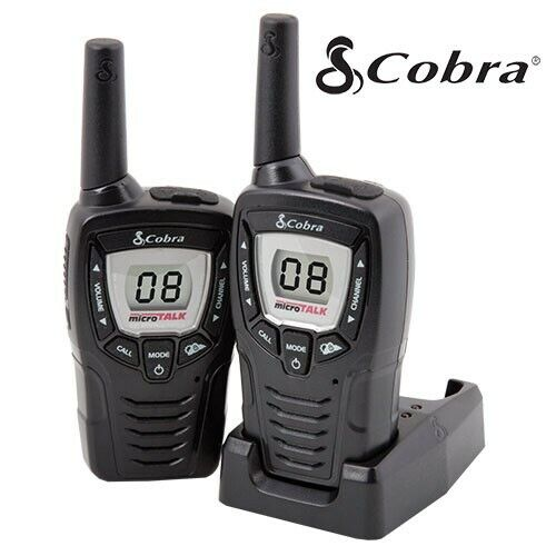Cobra CXT395 2- 23 Mile Range 22 Channel 2 Way Walkie Talkie Radios