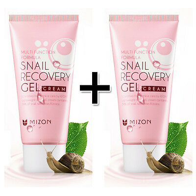 [MIZON] Snail Recovery Gel Cream 45ml buy 1 get 1 Free (Total 2pcs)