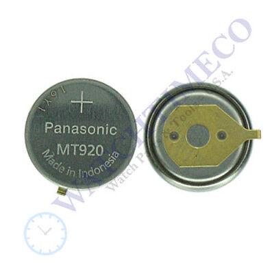 Citizen Ecodrive Capacitor Panasonic MT920 f/ J304 7W21 7W71 BR10