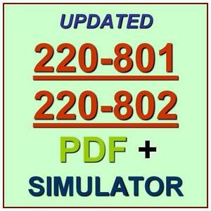 comptia and 174 a 220 801 220 802 in depth andrews jean