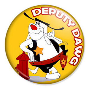 Deputy-Dawg-25mm-1-Pin-Badge-Retro-Classic-Cartoon