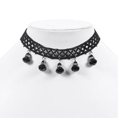 princess black lace choker necklace By Controse - Princess Choker