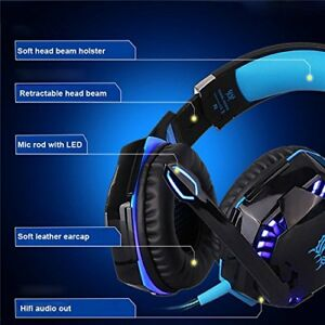 KOTION G2000 Game Headset, Deep Bass Game Headphone