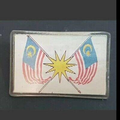 1957 rare merdeka reflector  changing between flag and merdeka 31 August 1957