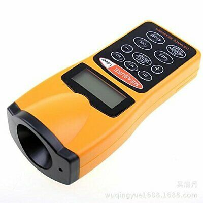 Oq01 Lcd Ultrasonic Distance Measurer With Laser Pointer Distance Meter 60ft
