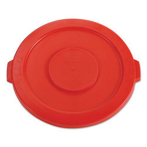 Rubbermaid RCP2631RED Brute 22.25 in. for 32 gal Round Flat Top Lid - Red New