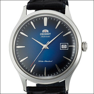 Orient Bambino Version 4 Automatic Dress Watch, Blue Dial, 42mm Case #AC08004D