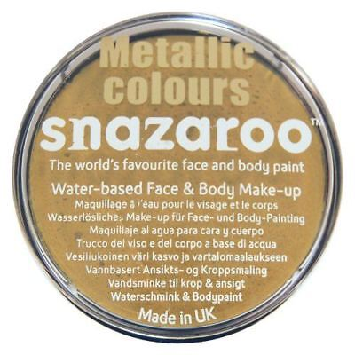 Gold Snazaroo High Quality Non-Toxic Party Face Paint for Festivals & Fairs](Face Paintings For Halloween Costumes)