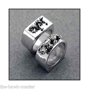 kenpo ring tiger ring karate jewelry sterling