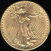 1927 Gold Coin