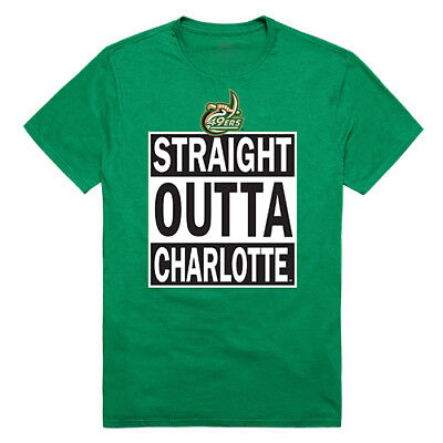 For sale University of North Carolina at Charlotte 49ers NCAA Straight Outta T-Shirt