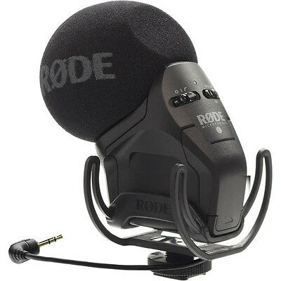 Rode Stereo VideoMic Pro Rycote On Camera Stereo Microphone SVMPR - Demo Unit
