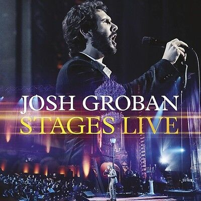 Josh Groban   Stages Live  New Cd  With Dvd