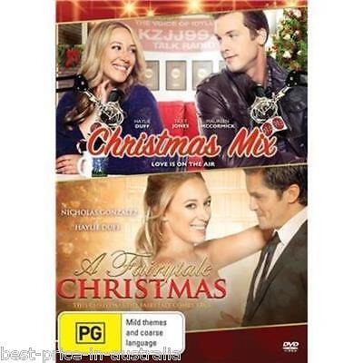 Christmas Mix   A Fairytale Christmas Dvd Brand New 2 Movies Xmas Haylie Duff R4