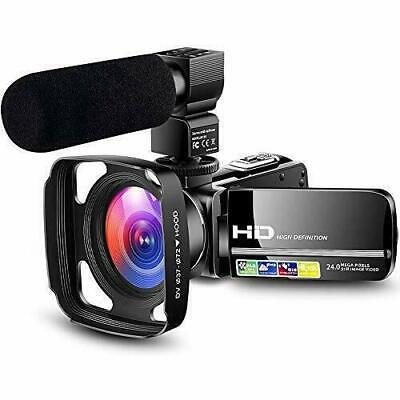 Camcorder Video Camera HD 1080P Vlogging YouTube Recorder Vlogger Live streaming