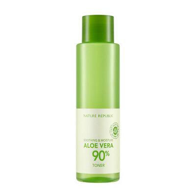 [NATURE REPUBLIC] SOOTHING & MOISTURE ALOE VERA 90% Toner / Korean Cosmetics