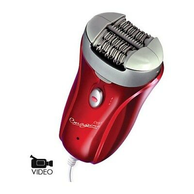 Emjoi Ap18 Emagine Red Epilator 72 Tweezer Head Corded Paten