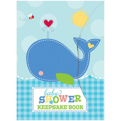 Nautical Baby Shower Supplies (BABY SHOWER AHOY KEEPSAKE BOOK ~ Party Supplies Favors Activity Nautical)
