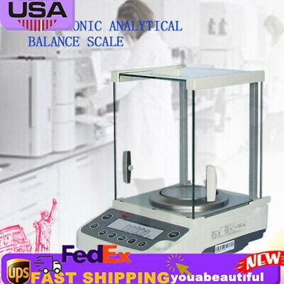 Analytical Balance Digital Scale 0.0001g Electronic Precision 0.1mg-200g Ac 110v