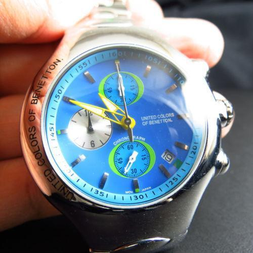 United colors of benetton watch ebay for Benetton watches