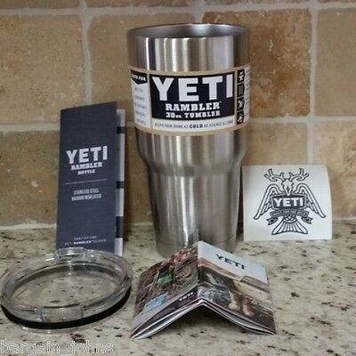 YETI 30 oz Stainless Steel TUMBLER NEW - Colster - Rambler  FREE PRIORITY SHIP!!