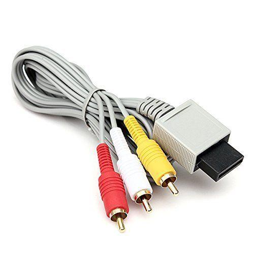 Audio Video AV Composite 3 RCA Cable for Nintendo Wii NEW US SELLER