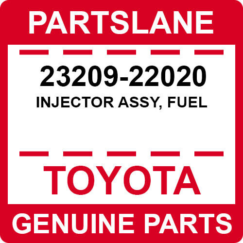 23209-22020 Toyota Oem Genuine Injector Assy, Fuel