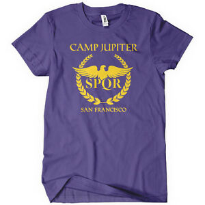 Camp-Jupiter-Womens-T-Shirt-Tee-Percy-Half-Blood-Jackson-Olympus-SPQR    Camp Jupiter Shirt Percy Jackson