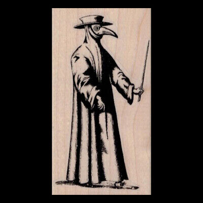 Plague Doctor Patch Black Death Medieval Paracelsus Nostradamus Sew Iron On 4/""