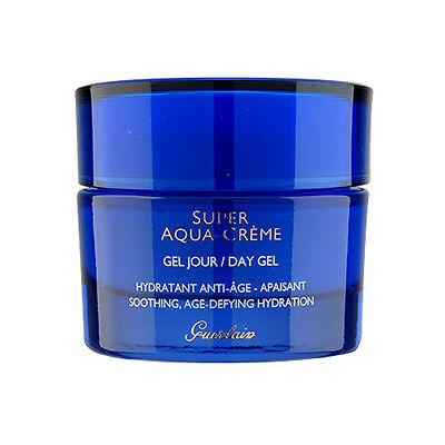 Guerlain Super Aqua Day Gel 1.6oz,50ml 24-Hour Skincare Moisturizer NEW -