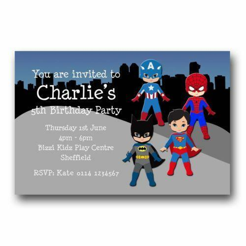 Party Invitations Party Stationery – 13th Birthday Party Invitations for Boys